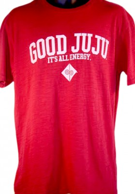 Good Juju Red 100_ Cotton Tee