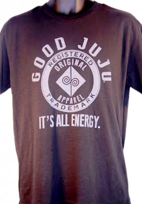 Good Juju Original Apparel Black 100_ Cotton Tee